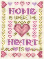 mini Home is where the Heart is sampler