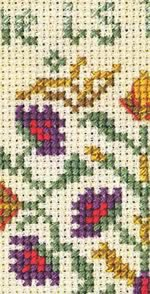 Friendship sampler detail