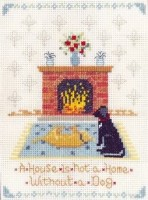 dogs home x stitch