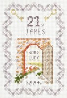 Coming of Age cross stitch kit