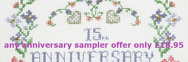any anniversary sampler