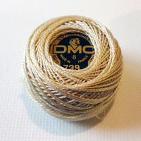 DMC coton perle 739 no 8