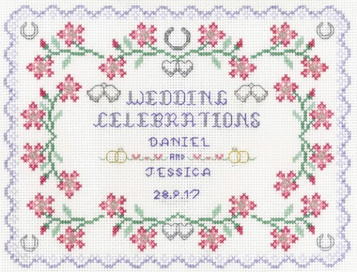 Pastel Wedding sampler kit