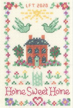 mini Home Sweet Home sampler cross stitch