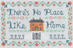 Home is where the heart is mini sampler cross stitch kit