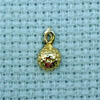 ball brass charm