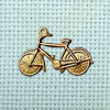 bicycle brass charm
