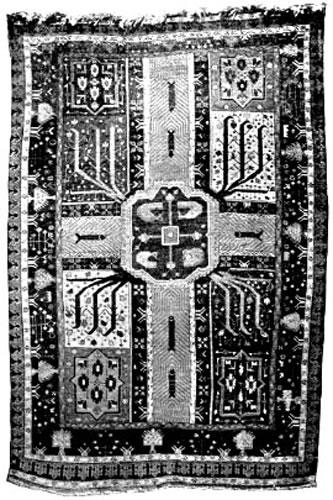 traditional garden carpet