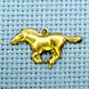 horse brass charm