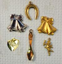 wedding brass charms