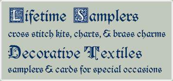 Lifetime Samplers & Decorative Textiles cross stitch kits