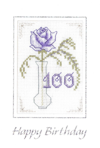 100th birthday card