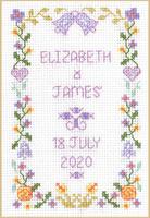 Mini Wedding Sampler cross stitch kit