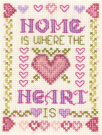 mini Home is where the Heart is sampler