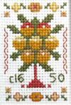 Miniature Tree sampler cross stitch kit or chart