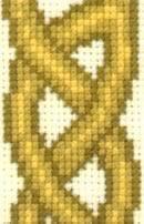 detail of celtic Failte sampler