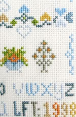alphabet sampler detail