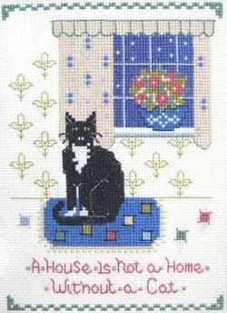 Cat Sampler cross stitch