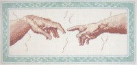 Creation of Adam cross stitch kit