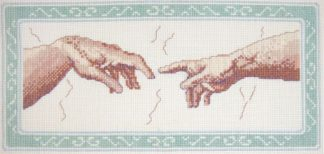Creation of Adam cross stitch kit