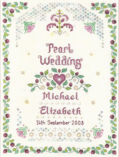Pearl Wedding anniversary