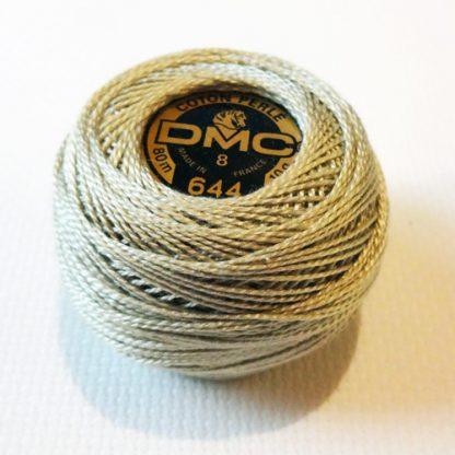 DMC coton perle 644 no 8