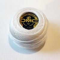 DMC coton perle BLANC no 12