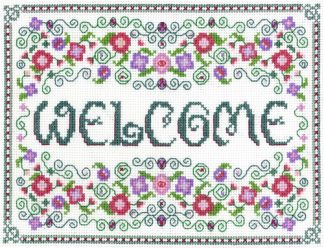 Welcome Sampler cross stitch