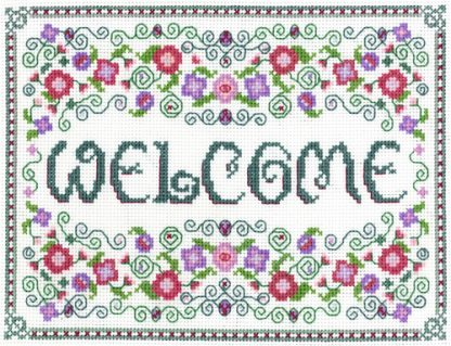 Welcome Sampler cross stitch