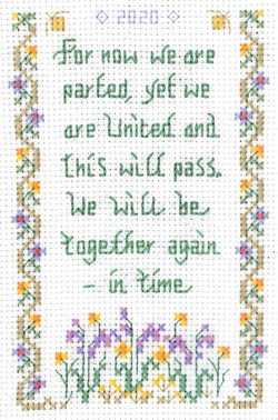 This will pass sampler cross stitch