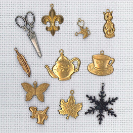 cross stitch charms 2